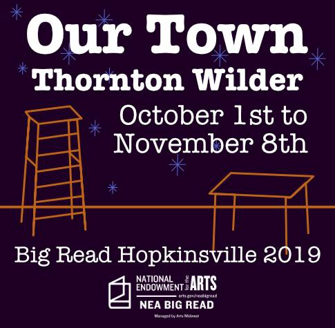 Our Town Big Read graphic