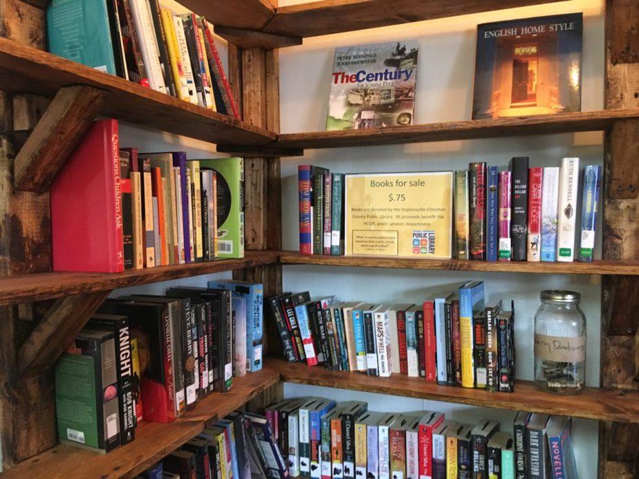 Corner Coffeehouse book nook