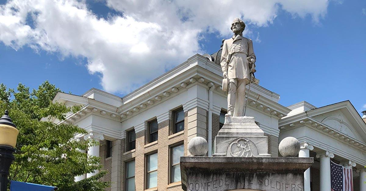 calloway confederate monument