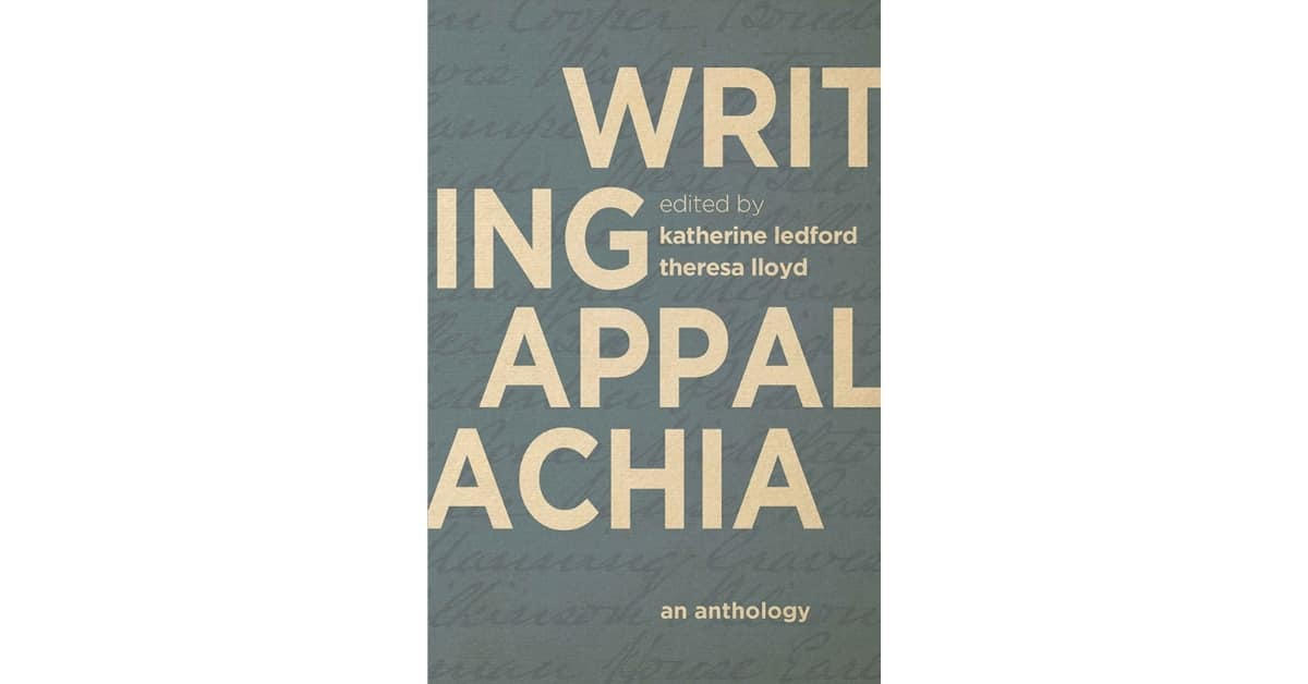 Writing Appalachia