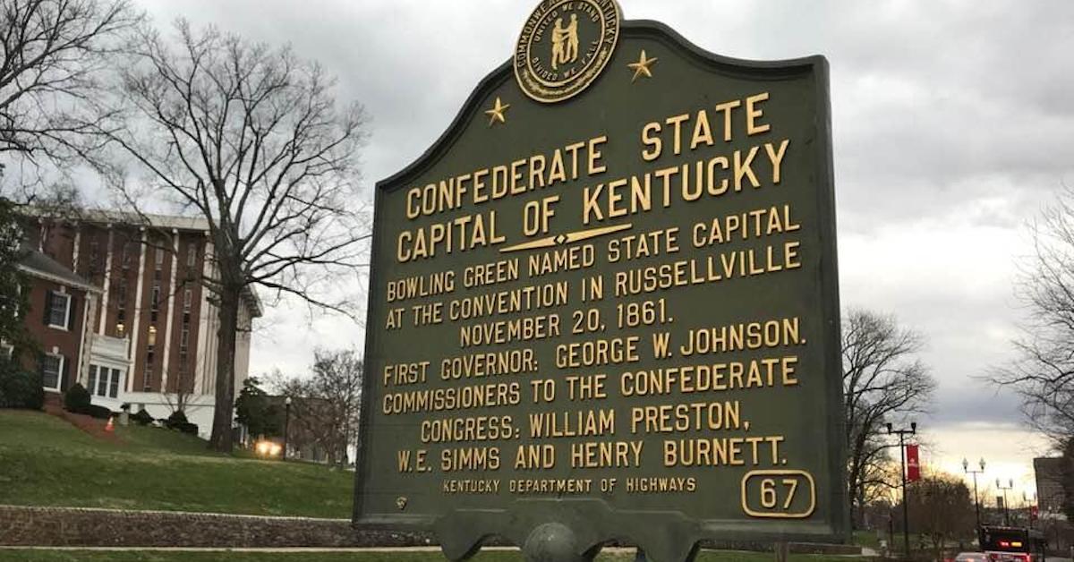 Confederate state marker-featured
