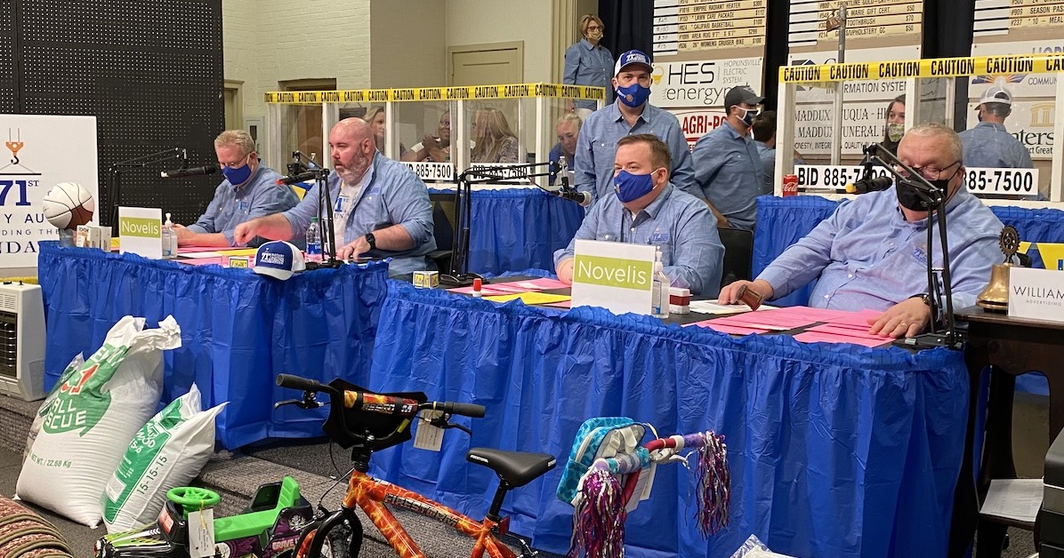 rotary auctioneers bikes feature