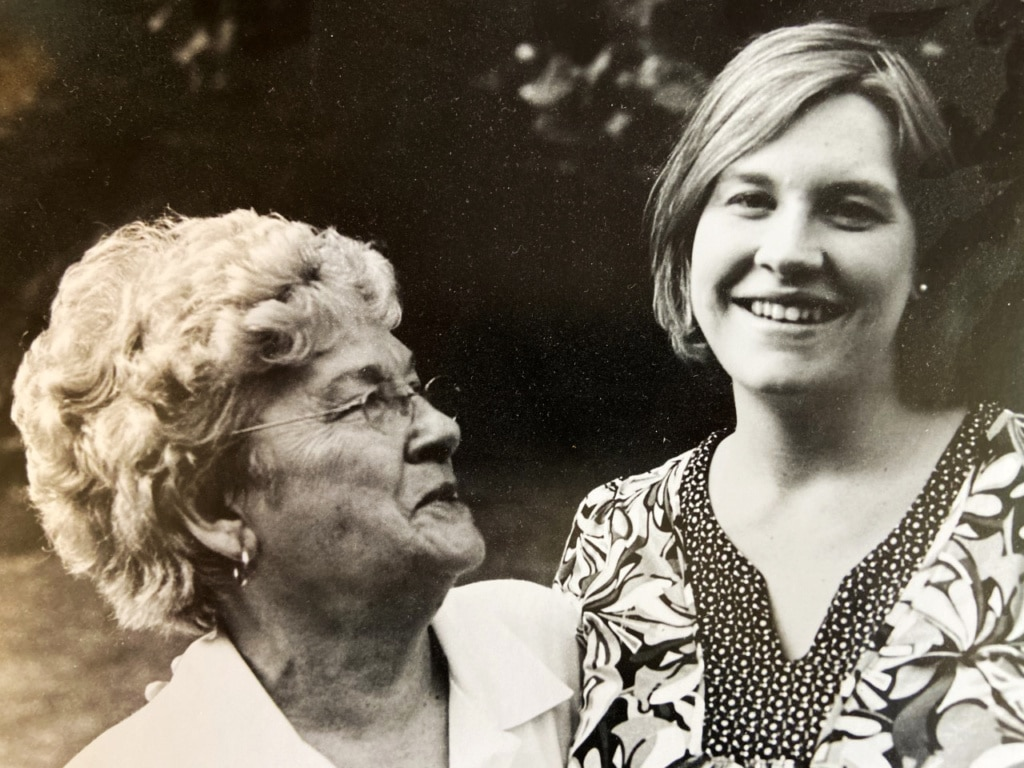 tracey staley and grandmother
