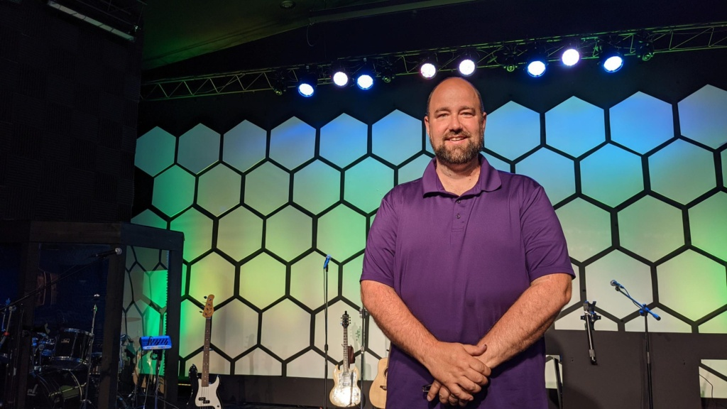 Journey Church Pastor Vince Farrell