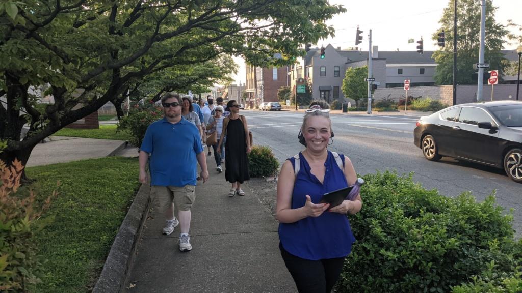 alissa keller leads downtown summer stroll on hopkinsville history