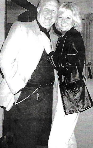 Ned Beatty and his wife, Sandra Johnson
