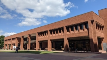 exterior of Murray State University library
